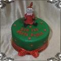 218 Tort mała Mi figurka z lukru z bajki Muminki