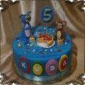 239 Tort Tom i Jerry mysz i kot torcik urodziny