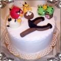 41 Tort dla dziecka Angry Birds z procą Cukiernia Pod Arkadami Kraków