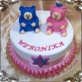 55 Tort z postaciami Billy i Bam Bam dla Weroniki na 2 urodziny