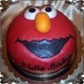 97 tort dla dzieci Elmo mapety ulica sezamkowa cukiernia pod arkadami Krakow