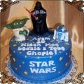 20 Tort dla dziecka Star Wars z 3 postaciami  Cukiernia Pod Arkadami Kraków  Krakowskie Torty Artystyczne