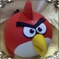 25 Tort czerwony ptak z Angry Birds 2D
