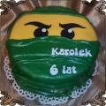 27 Tort dla chłopca zielony Niniago Cukiernia Pod Arkadami Kraków  Krakowskie Torty Artystyczne