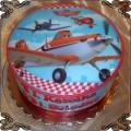 6. Tort dla dzieci  z samolotem Dusty Cukiernia Kraków Torty z dowozem