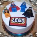 68 Tort Lego movie lego przygoda Batman Superman Emmet Klockowski Benny