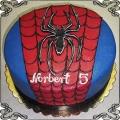 75 tort Spiderman kostium z pająkiem dla Norberta