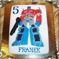 80 Tort Transformers Optimus Prime dla Franka