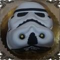 87 Tort star wars głowa szturmowca 2D maska żołnierza imperium gwiezdne wojny