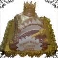 16 Tort na chrzciny z poduszkami dla króla Cukiernia Pod Arkadami Kraków