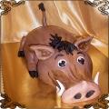 114 Tort guziec taka świnia z Afryki