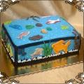 133 Tort akwarium rybki woda hobby