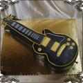 151 Tort gitara przestrzenny duży guitar cake