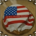 154 Tort flaga USA  ameryki dla Jankesa