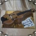 189 Tort skrzypce przestrzenny instrument smyczkowy