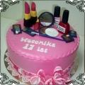 19 Tort z kosmetykami dla nastolatki Torty artystyczne Kraków Cukiernia Pod Arkadami