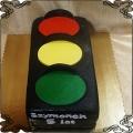 190 Tort sygnalizator świetlny czerwone żółte zielone światło