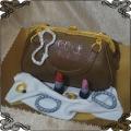 194 Tort torebka kosmetyki korale bransoletki dla pani