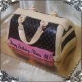 197 Tort na 18 urodziny w kształcie torebki Damskiej Louis Vuitton.
