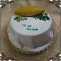 216 Tort z oscypkiem tradycyjny polski ser z gór dla górala
