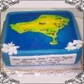 48 Tort wyspa Bali ocean Torty artystyczne Kraków Cukiernia Pod Arkadami
