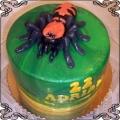 56 Tort z pająkiem Torty artystyczne Kraków Cukiernia Pod Arkadami