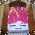 91 Tort dla małżonków w łóżku 100 lat razem