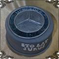 109 Tort mercedes logo auto na urodziny