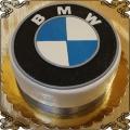 129 Tort w kształcie loga  samochodowego  samochodów BMW
