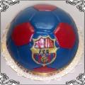 34 Tort piłka FC Barcelona Torty artystyczne Kraków