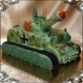 4 Tort czołg niemiecki tank cake