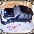 47 Tort BMW x5 terenowy czarny Krakowskie Torty Artystyczne
