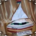 49 Tort w kształcie łodzi dla studentów AGH