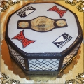 77 Tort ring do walk UFC i pas mistrzowski