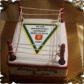 89 Tort   drużyna bokserska w kształcie ringu, boks