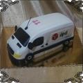 97 Tort Bus DPD auto dostawcze firmowy przestrzenny, kurier
