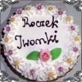 32 Tort okolicznościowy klasyczny w śmietanie Cukiernia Pod Arkadami Kraków