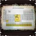 44 Tort Tablica Mendelejewa na urodziny Cukiernia Pod Arkadami Kraków