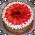 69 Tort klasyczny z owocami w galaretce owocowej