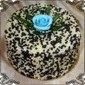 76 Tort klasyczny w chrupiących kulkach ryżowych w czekoladzie