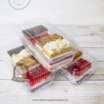 Ciasta weselne - paczki dla gości