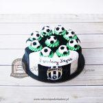 Tort z piłkami dla fana JUVENTUS