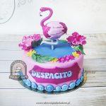 Tort DESPACITO z flamingiem
