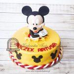 Myszka Miki wyskakująca z tortu