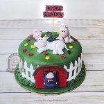 Tort wiejska zagroda ze zwierzątkami blog